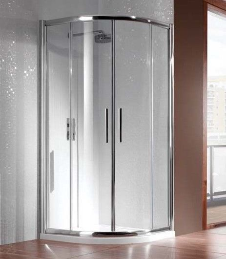 Manhattan glass Quad shower enclosure (no Tray), 800x800m, unused and boxed, comes in 2 boxes