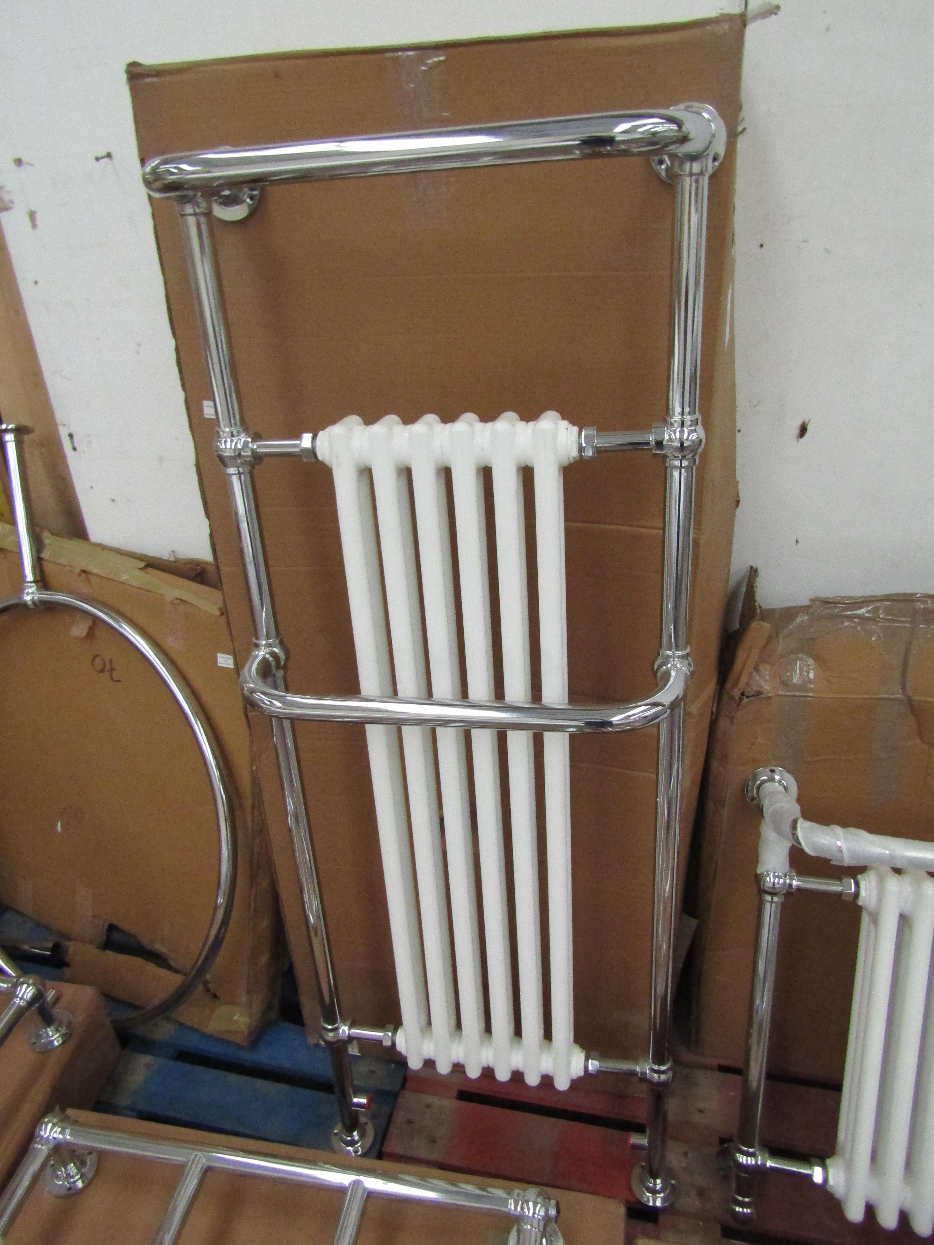 Old London Hazel 6 section Traditional radiator, boxed and unchecked, measure 1490mm x 240 x 540