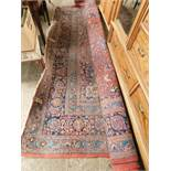 GOOD QUALITY EXTREMELY LARGE MODERN CARPET WITH FLORAL MULTI-COLOURED DESIGN
