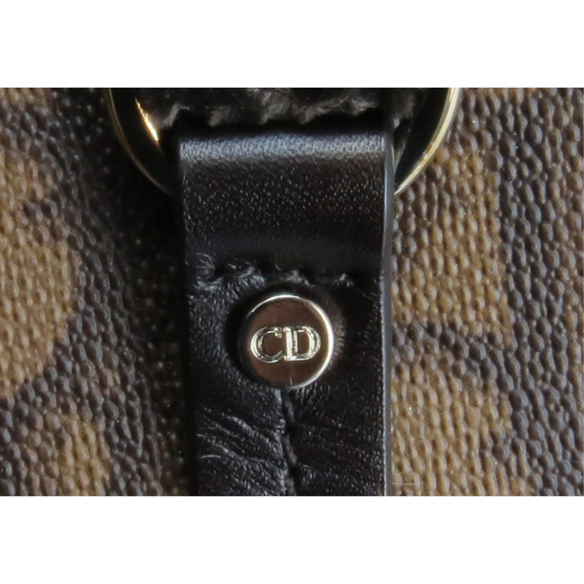 Lot 289 - Christian Dior Monogram Romantique Trotter Handbag
