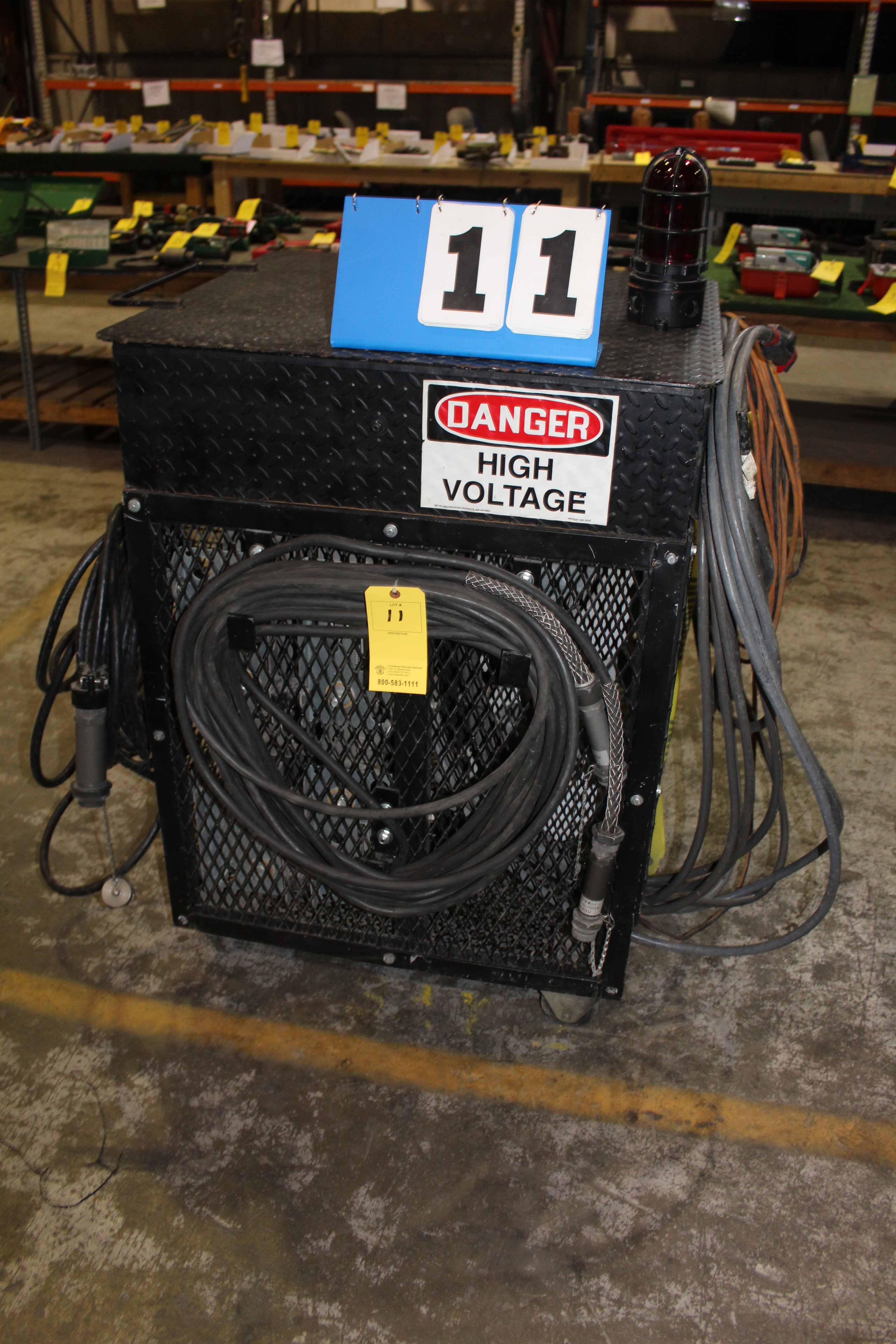 Lot 11 - HIGH VOLTAGE BUILDING TESTER, CUSTOM