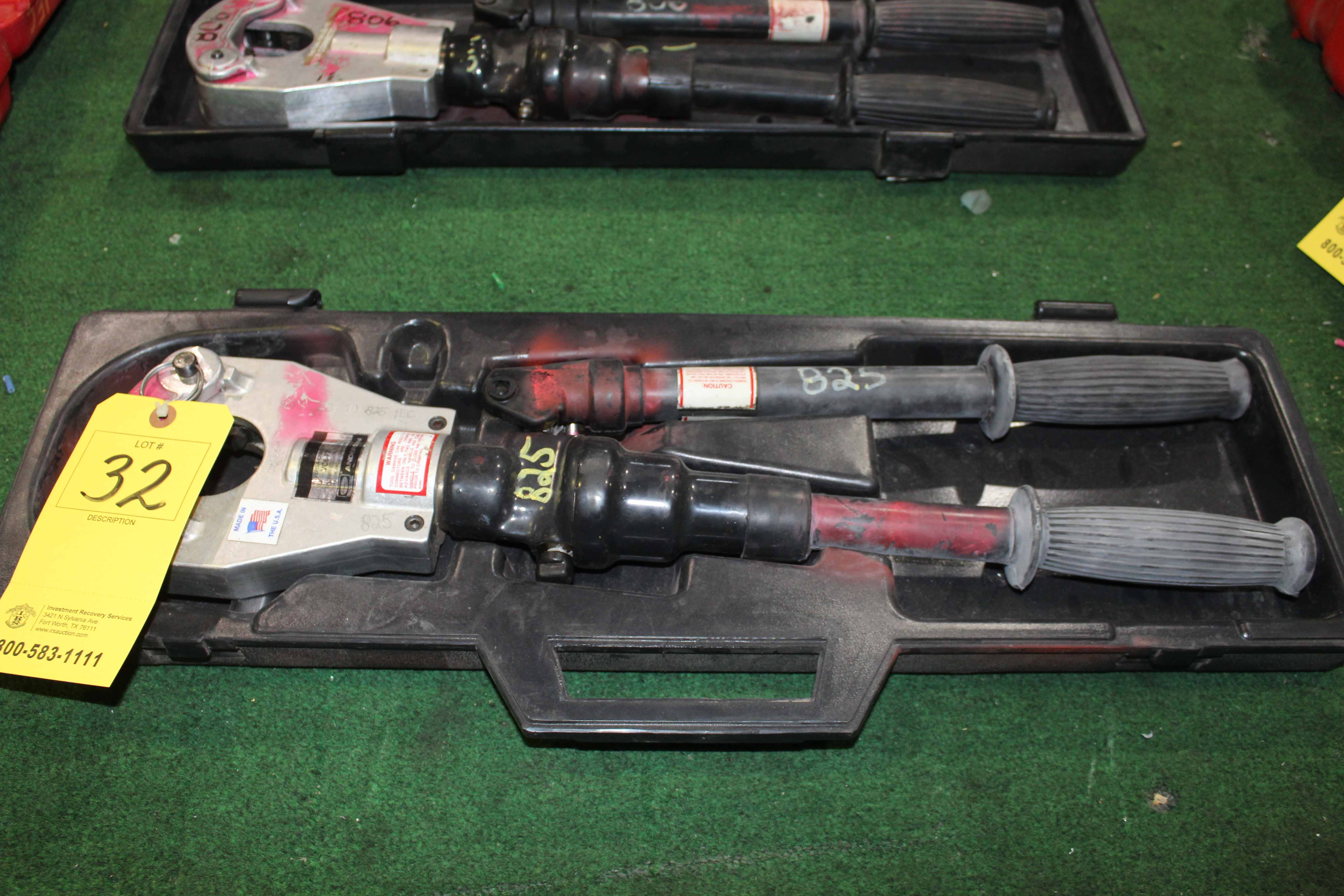 Lot 32 - CRIMPING TOOL, ANDERSON