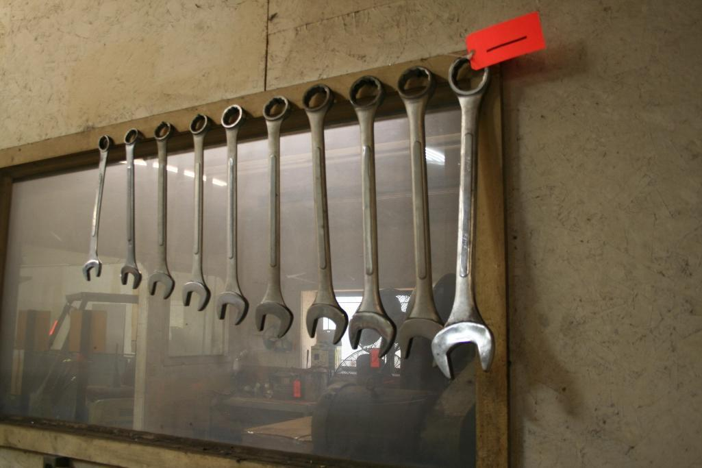 """(10) Open and Box end Wrenches 1 3/8"""" through 2 1/2"""""""