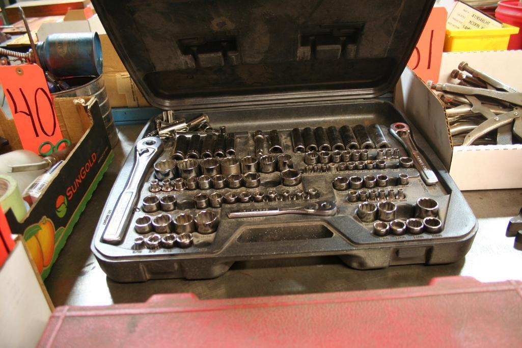 Craftsman Socket Set - Image 2 of 2