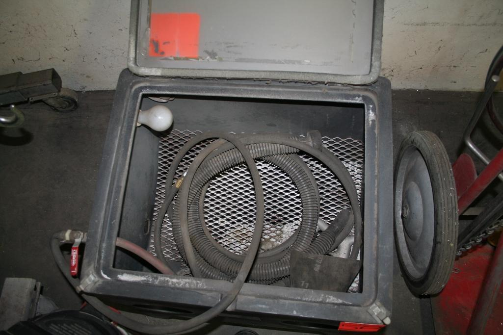Cyclone Blast Cabinet with Shop Vac Collector - Image 2 of 3