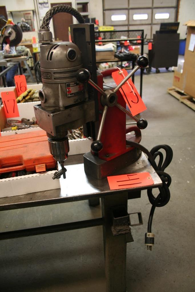 Lot 13 - Milwaukee Magnetic Base Drill