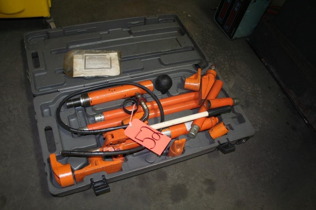 Central hydraulic Portable Puller 10-Ton