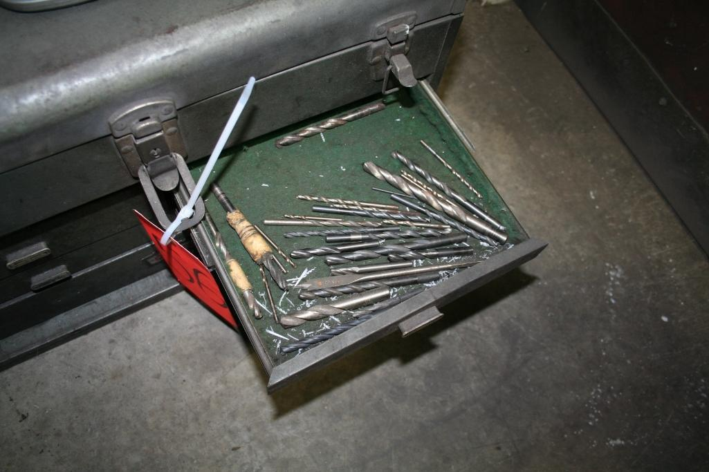 Tool Box with Taps and Drills - Image 5 of 6