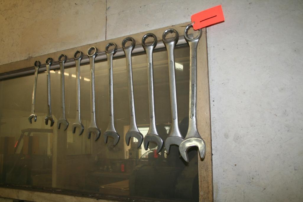 """(10) Open and Box end Wrenches 1 3/8"""" through 2 1/2"""" - Image 2 of 2"""
