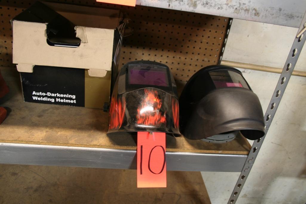 (2) Auto Darkening Welding Helmets