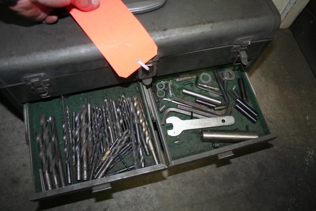 Tool Box with Taps and Drills - Image 4 of 6