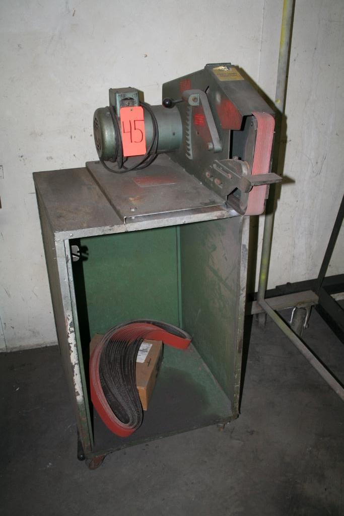 "Wilton Belt Grinder 2"" Belt, 1-hp, 115/208"
