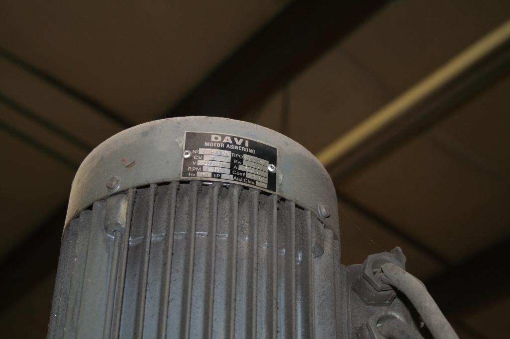 """Lagun Vertical Mill Power Cross Feed Model FTV-2, DRO, 9""""x48"""" Table, Vari-Speed, 220/440 - Image 4 of 6"""