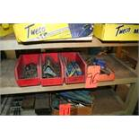 (4) Small Boxes, Drill Bits, Reamers, End Mills, Etc.