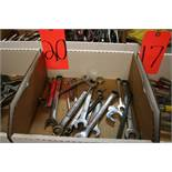 Box of Open and Box End wrenches