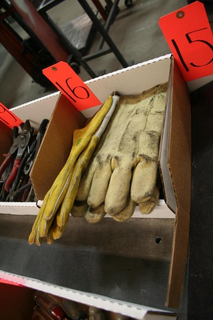 Lot 16 - 2-Pairs Welders Gloves