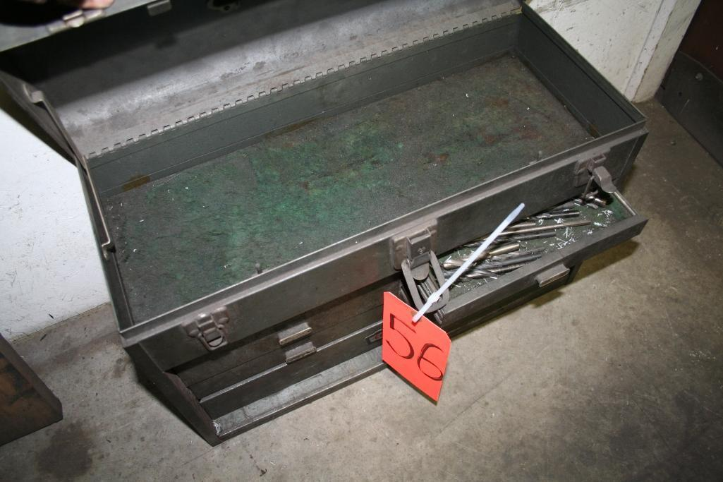 Tool Box with Taps and Drills - Image 6 of 6