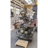 1998 King Rich KRV3000-V milling machine, serial no. 8470. Includes Newall Topaz Mill controller.