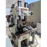 "25 TON X 2.9"" HIDAKA OBS PUNCH PRESS, MODEL MARK 25, ONE SHOT LUBE SYSTEM, STROKE SPEED INDICATOR,"
