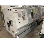 "2006 HAAS SL-20T CNC TURNING CENTER, 8"" CHUCK SIZE, 2"" BAR CAPACITY, EQUIPPED WITH: HAAS CNC CONTROL"