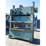 "175 TON X 6"" HEIM STRAIGHT SIDE PRESS, MODEL 175-42-78, BIJUR AUTOMATIC LUBRICATION SYSTEM, DUAL AIR"