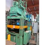 175 TON COLUMBUS INDUSTRIES MODEL TRIMMER 4 POST HYDRAULIC TRIM PRESS, MODEL TRIMMER, 4 WAY CAN