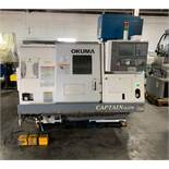 "2006 OKUMA CAPTAIN L370 CNC TURNING CENTER, 20"" SWING, 20"" MACHINING LENGTH, 10"" CHUCK, 2"" BAR CAPAC"
