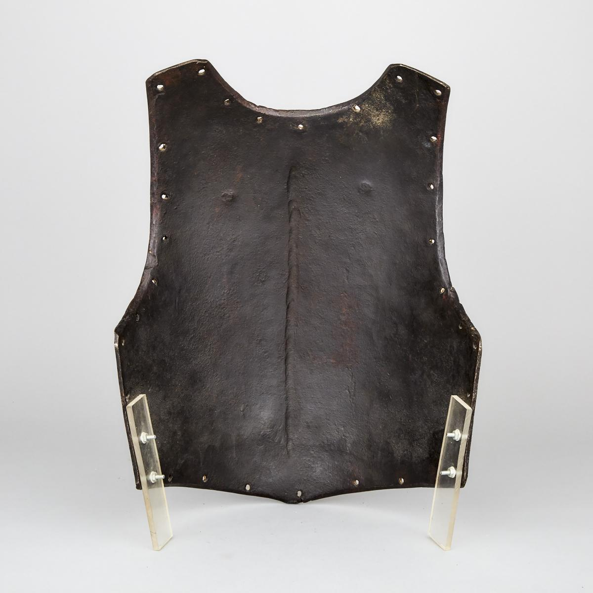 North European Breastplate, early/mid 17th century, height 19 in — 48.3 cm - Image 2 of 2