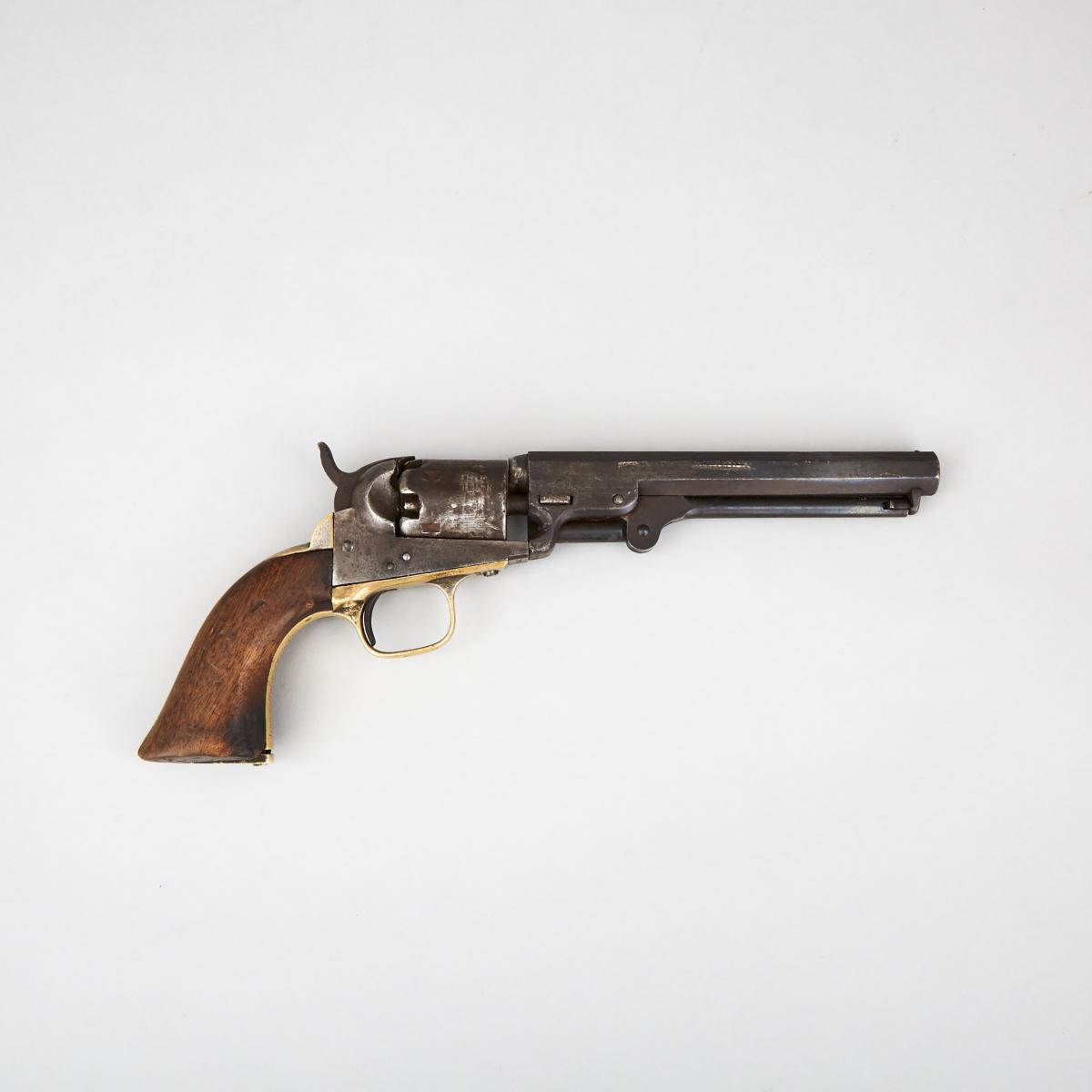 Colt Model 1851 'The Dandy First' National Guard Presentation Navy Revolver, 1863 - Image 2 of 5