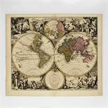 Gerard (1652-1726) and Leonard Valk (1675-1746), ORBIS TERRARUM NOVA ET ACCURATA TABULA, sheet 21 x