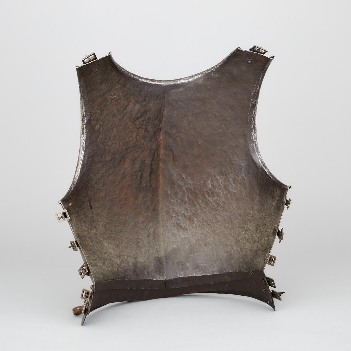 North Italian Infantry Breastplate, early 17th century, height 17.5 in — 44.5 cm - Image 2 of 2