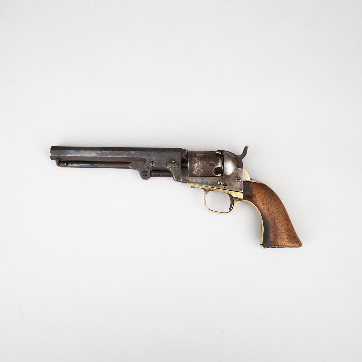 Colt Model 1851 'The Dandy First' National Guard Presentation Navy Revolver, 1863