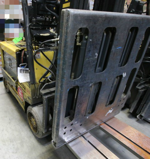 Lot 9 - HYSTER, 3 Stage Mast Forklift, Model E50XM, S/N C108V21191R, 3,700lbs Capacity, Equipped with