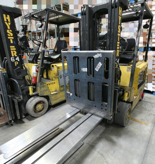 Lot 7 - HYSTER, 3 Stage Mast Forklift, Model E50XM, S/N C108V21230R, 3,700lbs Capacity, Equipped with