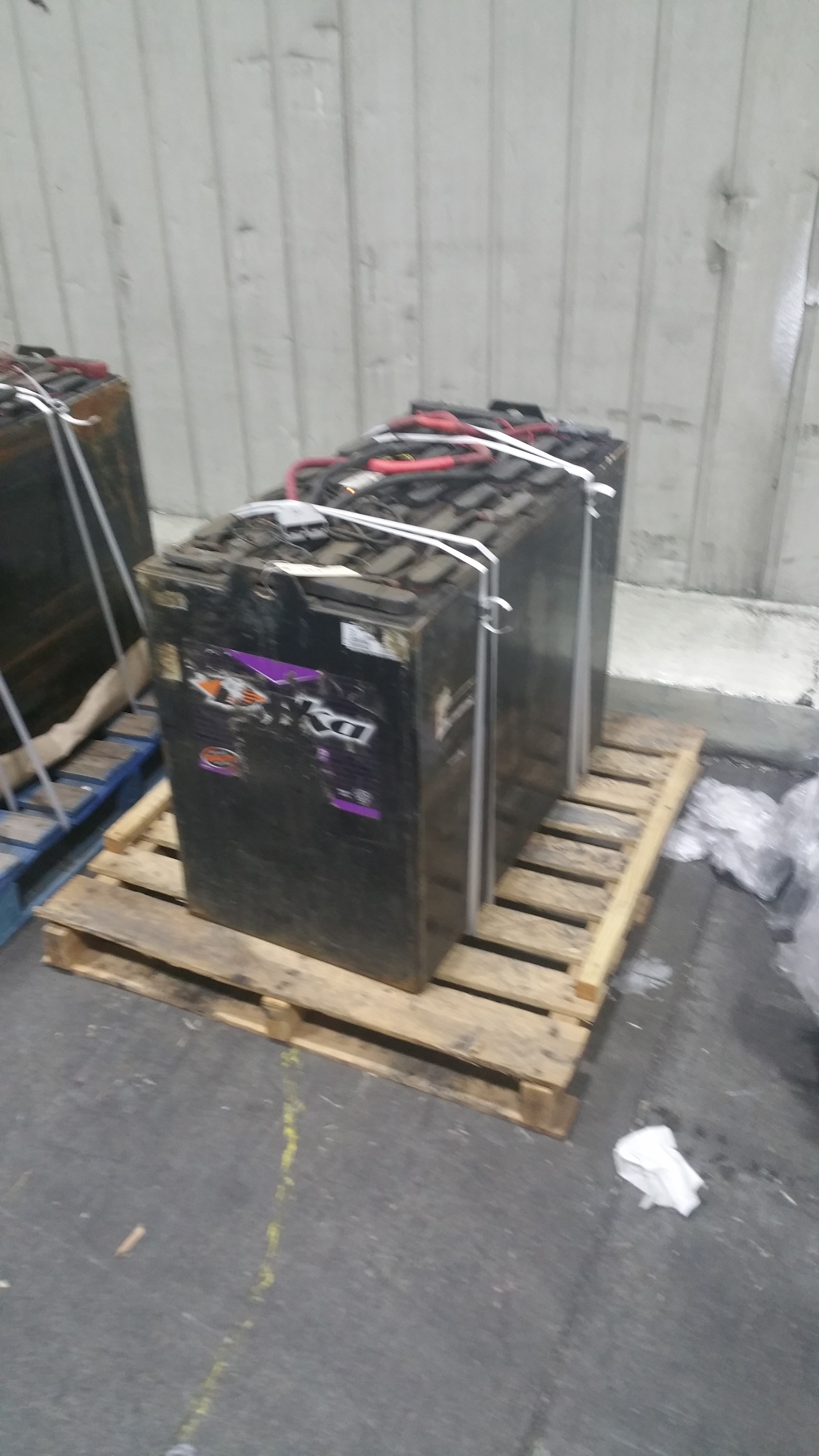 """Lot 36 - (2) Deka Fast Charge 36V Batteries, New in 2014 Used Less Than 6 Months, 20 1/16"""" x 38 ¼"""" x 30 7/16"""""""