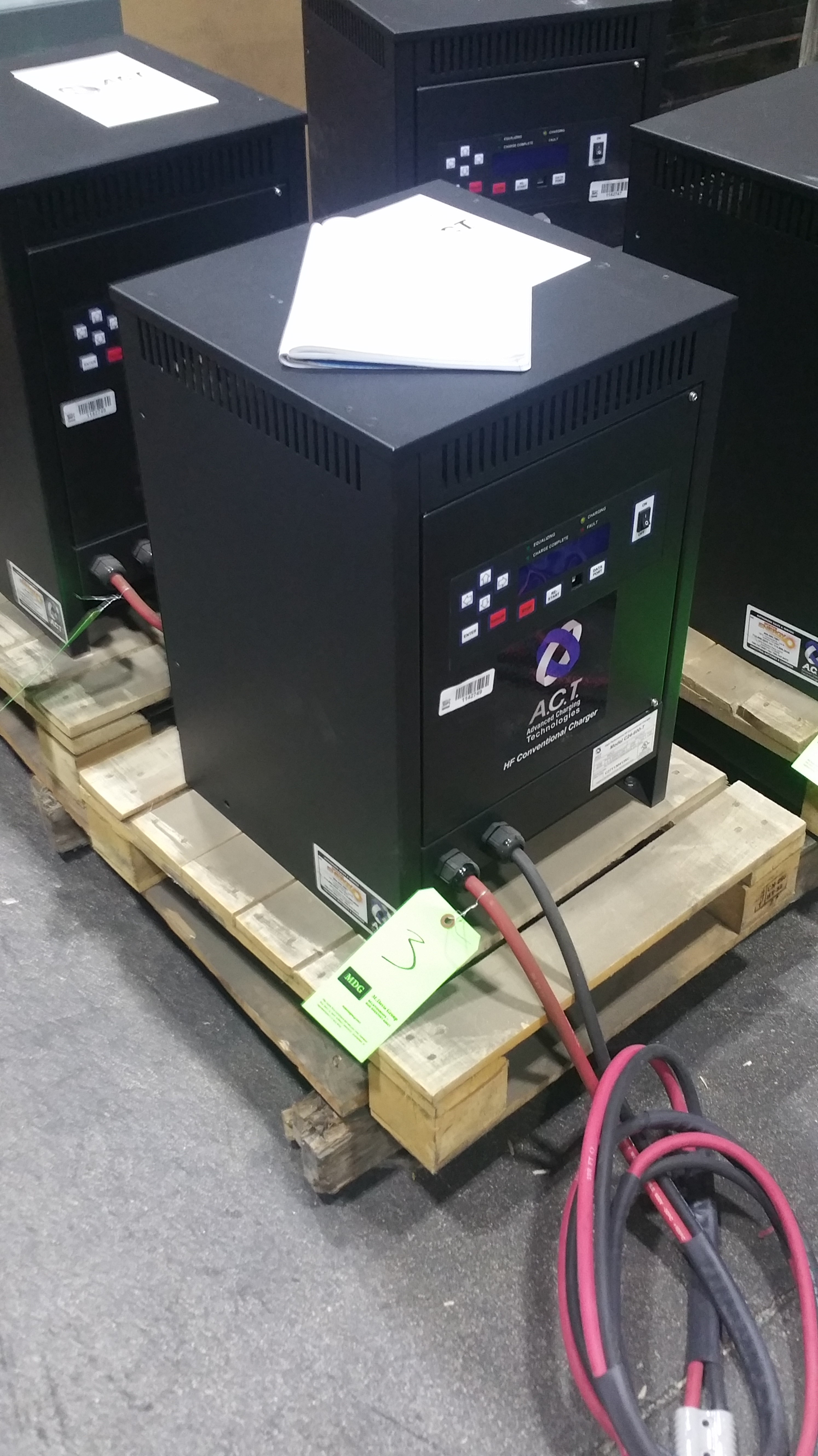 Lot 28 - NEW ACT 24 600T 24V Battery Charger tagged lot 3(Located in Indiana)