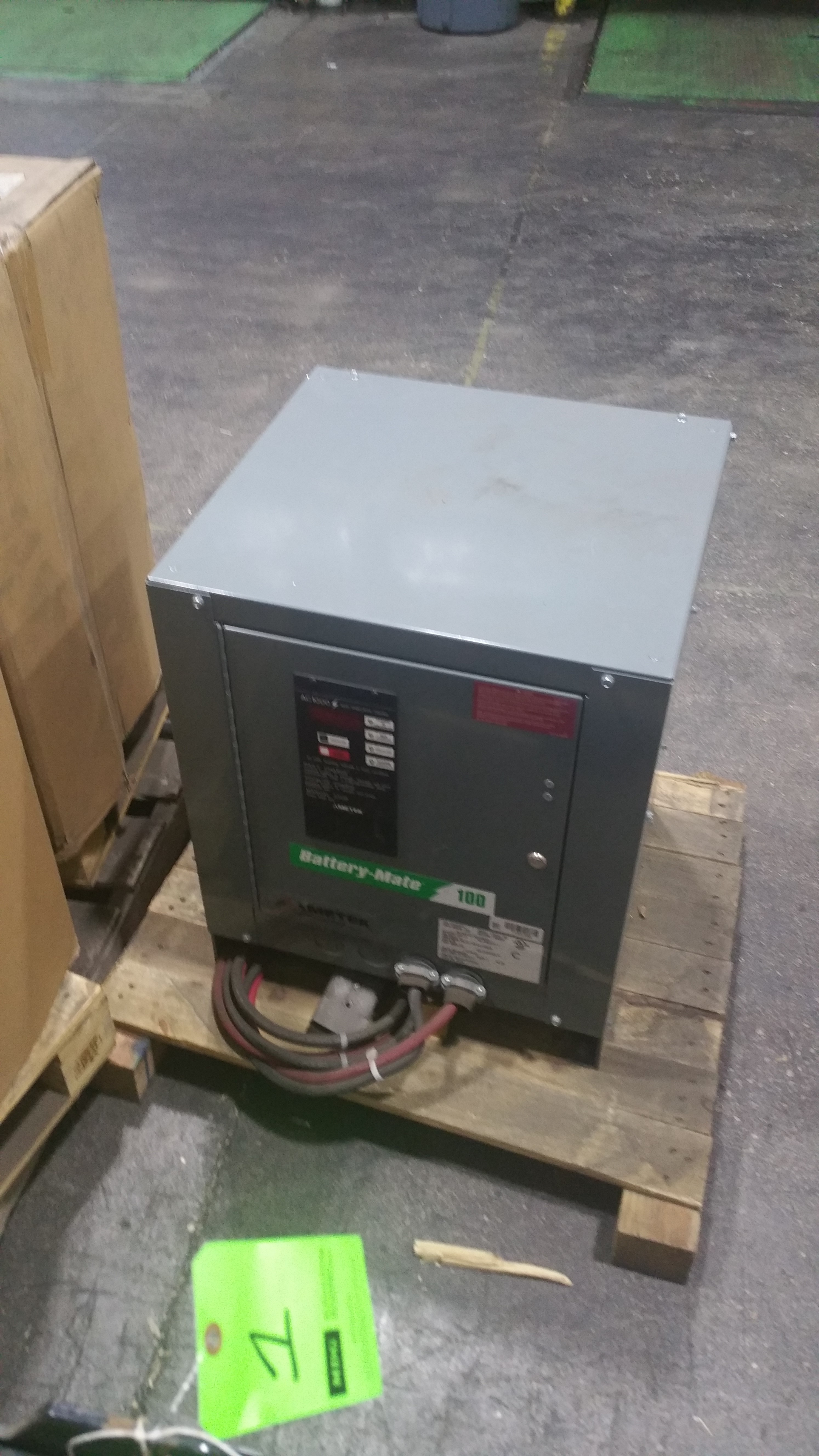 Lot 30 - NEW Battery Mate 100 Charger with AC 1000 Controls Tagged Lot 5 (Located in Indiana)