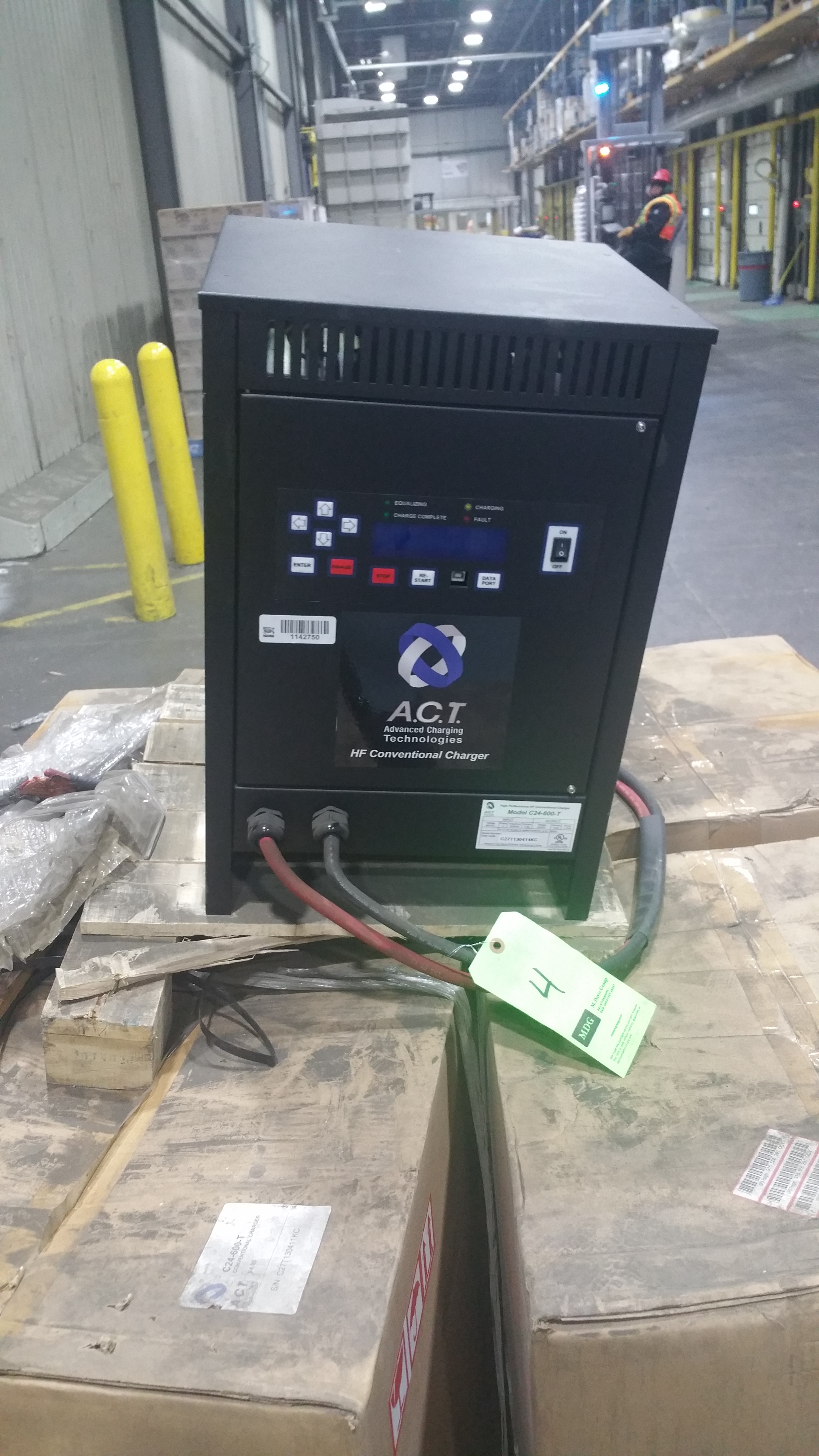 Lot 29 - NEW ACT 24 600T 24V Battery Charger Tagged Lot 4 (Located in Indiana)