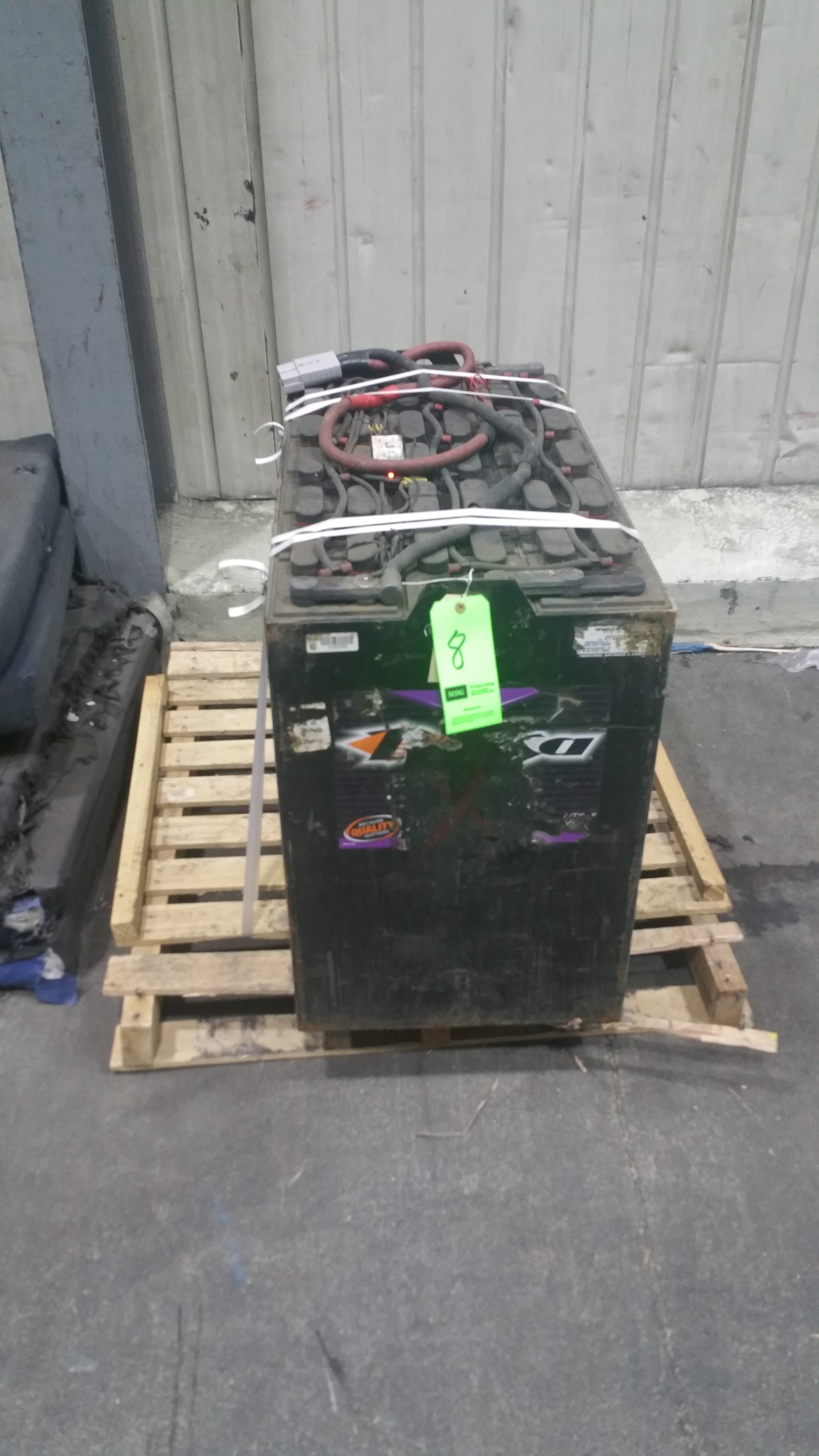 """Lot 33 - (2) Deka Fast Charge 36V Batteries, New in 2014 Used Less Than 6 months, 20 1/16"""" x 38 ¼"""" x 30 7"""