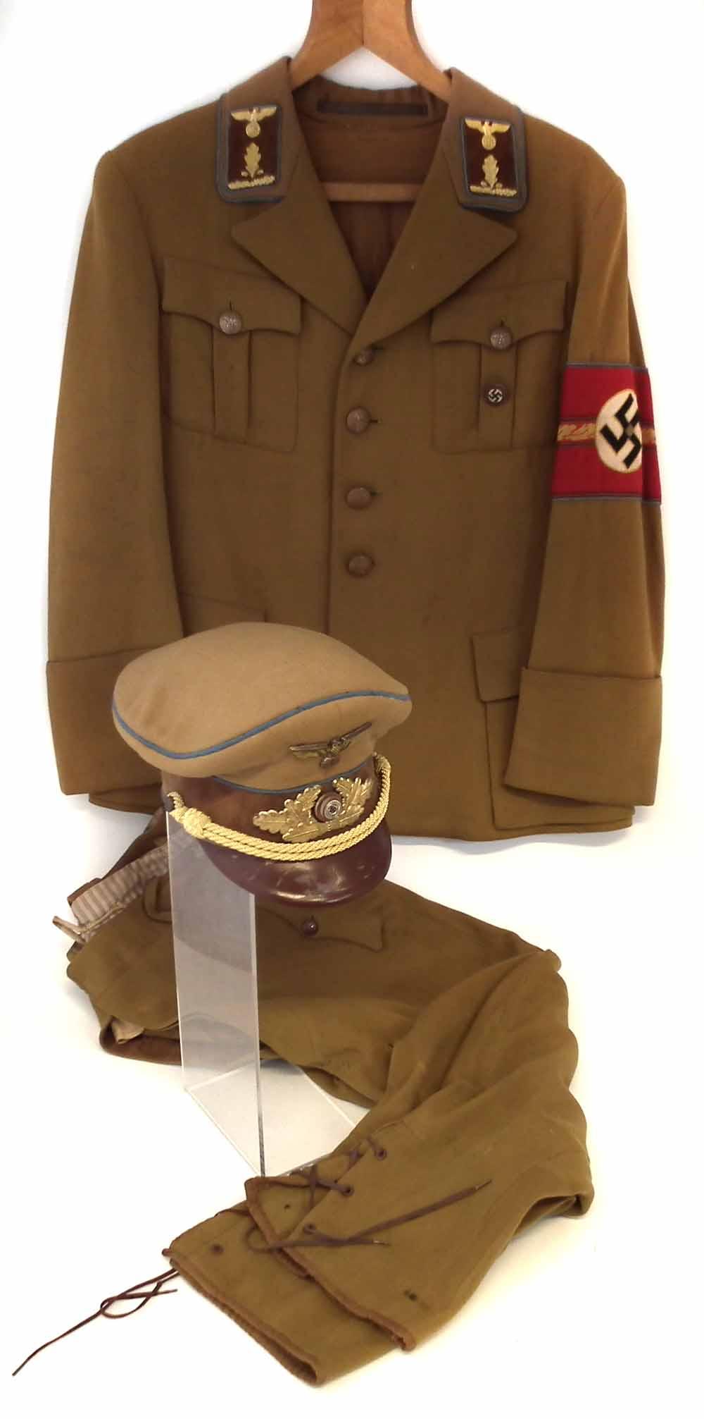 German Third Reich Nazi Party uniform for a Senior Section ...