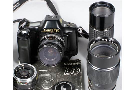 Canon T90 Outfit  To include Kiron 28mm f2 8 lens