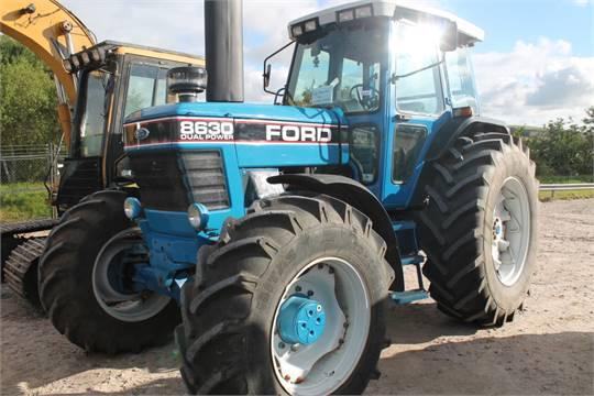 4 Door Tractor : Ford new holland door tractor reg no h ljt d f