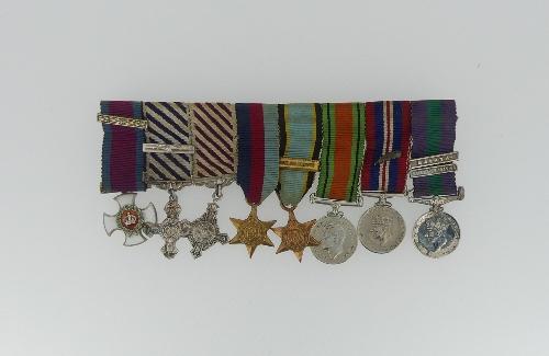 Lot 246 - A WWII D.S.O., D.F.C. and Bar, A.F.C. group of eight to Group Captain Peter R. Casement, Royal Air