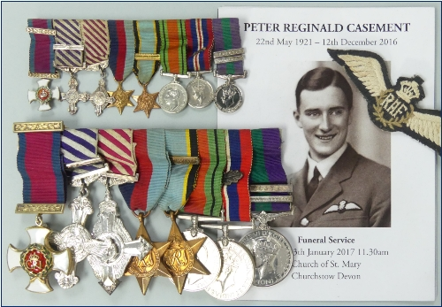 A WWII D.S.O., D.F.C. and Bar, A.F.C. group of eight to Group Captain Peter R. Casement, Royal Air