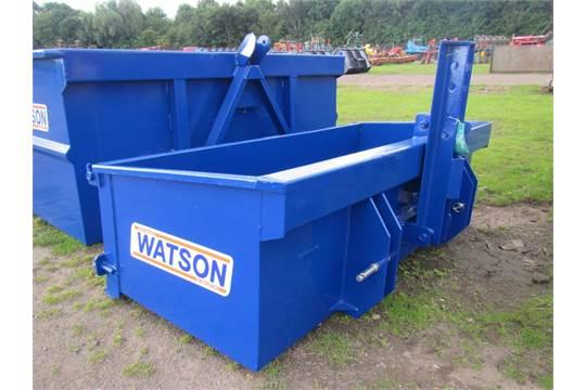 Walter Watson 6ft Heavy Duty Tipping Transport Box With Scraper