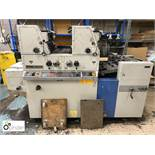 Ryobi 3302M 2-colour Offset Press, year 1998, serial number 8161, 240volts (please note this lot