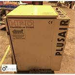 HPC Plusair SK19 Compressor, 1,023hours, Year 1999, sn 1162 (please note this lot is located in