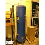 DMF Vertical Air Receiving Tank, 11bar, 250litres (please note this lot is located in Wakefield