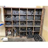 Quantity Letterpress Packings, including 25 hole rack (please note this lot is located in