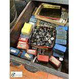 Quantity Letterpress Numbering Boxes (please note this lot is located in Blackpool and needs to be